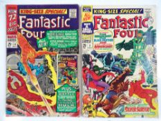 FANTASTIC FOUR: KING-SIZE SPECIAL (ANNUAL) #4 & 5 - (2 in Lot) - (1966/67 - MARVEL - UK Cover Price)