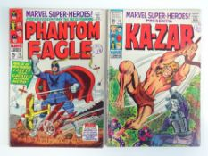 MARVEL SUPER-HEROES #16 & 19 - (2 in Lot) - (1968/69 - MARVEL - UK Cover Price) - Origin and First