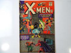 UNCANNY X-MEN #20 - (1966 - MARVEL - UK Price Variant) - Lucifer, Blob, Unus the Untouchable