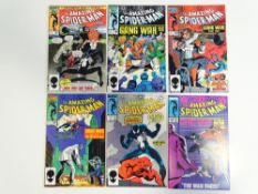 AMAZING SPIDER-MAN #283, 284, 285, 286, 287, 288 (6 in Lot) - (1986/87 - MARVEL) - Flat/Unfolded - a