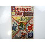 FANTASTIC FOUR #17 - (1963 - MARVEL - UK Price Variant) - Fantastic Four battle Doctor Doom, and
