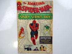 AMAZING SPIDER-MAN #19 - (1964 - MARVEL - UK Cover Price) - Sandman and the Enforcers