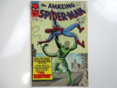 AMAZING SPIDER-MAN #20 - (1965 - MARVEL - UK Cover Price) - Origin and First appearance of the