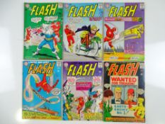 FLASH #150, 152, 153, 154, 155, 156 - (6 in Lot) - (1965 - DC - UK Cover Price) - Flat/Unfolded -