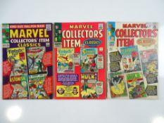MARVEL COLLECTORS' ITEM CLASSICS #1, 3, 4 (3 in Lot) - (1965/66 - MARVEL - UK Cover Price) - Flat/