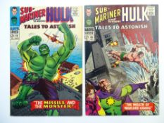TALES TO ASTONISH # 85 & 86 (Group of 2) - (1966 - MARVEL - Cents Copy) - Hulk appears in the Sub-