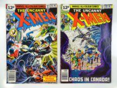 UNCANNY X-MEN #119 & 120 (2 in Lot) - (1978 - MARVEL - UK Price Variant) - First appearance of Alpha