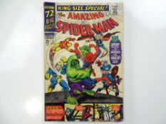 AMAZING SPIDER-MAN: KING SIZE ANNUAL #3 - (1966 - MARVEL - UK Cover Price) - New Avengers story with