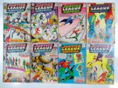 JUSTICE LEAGUE OF AMERICA #15, 16, 17, 18, 19, 20, 22, 23 - (8 in Lot) - (1962/63 - DC - UK Cover