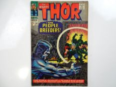 THOR #134 - (1966 - MARVEL - UK Price Variant) - First appearance of the High Evolutionary +