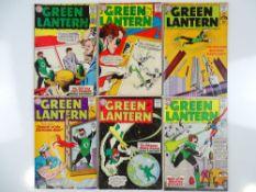GREEN LANTERN #17, 19, 21, 23, 24, 25 - (6 in Lot) - (1962/63 - DC - UK Cover Price) - Flat/Unfolded