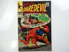DAREDEVIL #30 - (1967 - MARVEL - UK Price Variant) - Classic Cover - Thor, Cobra, Mister Hyde