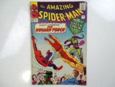 AMAZING SPIDER-MAN #17 - (1964 - MARVEL - UK Price Variant) - Second appearance of the Green