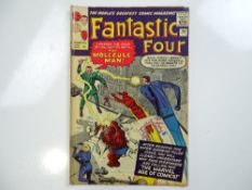 FANTASTIC FOUR #20 - (1963 - MARVEL - UK Price Variant) - Origin and first appearance of the
