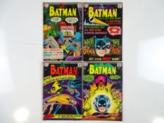 BATMAN #183, 184, 188, 192 - (4 in Lot) - (1966/67 - DC - UK Cover Price) - Flat/Unfolded - a