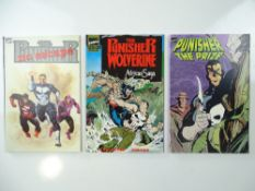 PUNISHER GRAPHIC NOVEL LOT (3 in Lot) - (1989/90 - MARVEL) - Includes NO ESCAPE + AFRICAN SAGA (with