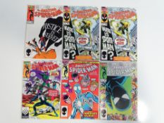 AMAZING SPIDER-MAN #278, 279 (x 2), 280, 281, 282 (6 in Lot) - (1986 - MARVEL) - Flat/Unfolded - a
