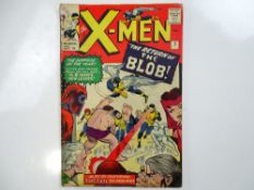 UNCANNY X-MEN #7 - (1964 - MARVEL - UK Price Variant) - First appearance of Cerebro - Magneto and