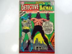 DETECTIVE COMICS: BATMAN #355 - (1966 - DC - UK Cover Price) - Zatanna appearance in the Elongated
