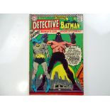 DETECTIVE COMICS: BATMAN #355 - (1966 - DC - UK Cover Price) - Zatanna appearance in the Elongated
