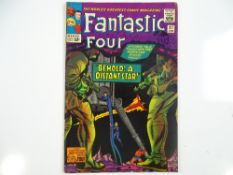 FANTASTIC FOUR #37 - (1965 - MARVEL - UK Cover Price) - Skrulls appearance - Jack Kirby cover and