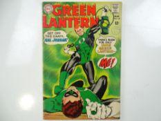 GREEN LANTERN #59 - (1968 - DC - UK Cover Price) - First appearance of Guy Gardner + Green Lantern's
