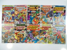 FANTASTIC FOUR # 175, 176, 177, 178, 179, 180, 181, 182, 183 and 184 (10 in Lot) - (1975/76 - MARVEL
