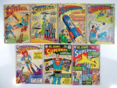 SUPERMAN #134, 140, 146, 156, 161, 183, 187 - (6 in Lot) - (1960/66 - DC - UK Cover Price) - Flat/