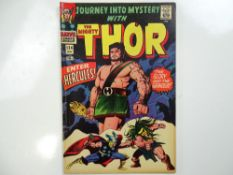 JOURNEY INTO MYSTERY #124 - (1966 - MARVEL - UK Price Variant) - Hercules appearance + Thor
