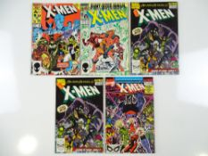 UNCANNY X-MEN ANNUALS #10, 11, 13 (x 2), 14 (5 in Lot) - (1986/90 - MARVEL) - Run includes First