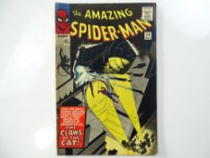 AMAZING SPIDER-MAN #30 - (1965 - MARVEL - UK Price Variant) - First appearance of Cat-Burglar -