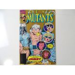NEW MUTANTS #87 - (1990 - MARVEL) - Second printing with Gold ink cover - First appearance of