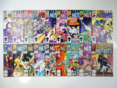 NEW MUTANTS - (18 in Lot) - (1986/89 - MARVEL) - Includes #40, 46, 47, 48, 49, 50, 51, 52, 53, 54,
