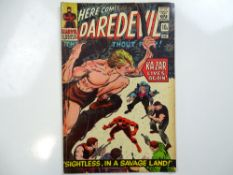 DAREDEVIL #12 - (1966 - MARVEL - UK Price Variant) - First appearance of the Plunderer + Ka-Zar