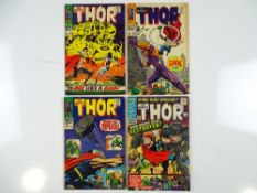 THOR #139, 140, 141 & KING-SIZE SPECIAL #2 - (4 in Lot) - (1966/67 - MARVEL - UK Cover Price and