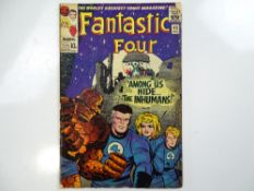 FANTASTIC FOUR #45 - (1965 - MARVEL - UK Price Variant) - First appearance of the Inhumans - Sandman