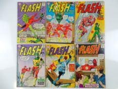 FLASH #143, 144, 145, 146, 148, 149 - (6 in Lot) - (1964 - DC - UK Cover Price) - Flat/Unfolded -