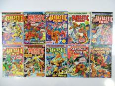FANTASTIC FOUR #151, 152, 153, 154, 155, 156, 157, 159, 160, 163 (10 in Lot) - (1974/75 - MARVEL -
