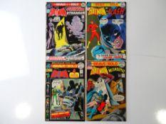 BRAVE AND BOLD #98, 99, 100, 101 - (4 in Lot) - (1971/72 - DC - UK Cover Price) - Batman, Phantom