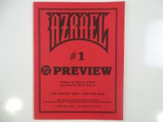 """AZRAEL #1 - (1994 - DC) - Preview Issue that states on cover """"This preview is an uncorrected proof"""