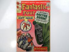 FANTASTIC FOUR #16 - (1963 - MARVEL - UK Price Variant) - Ant-Man's first crossover + Doctor Doom