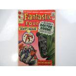 FANTASTIC FOUR #16 - (1963 - MARVEL - UK Price Variant) - Ant-Man's first crossover + Doctor Doom