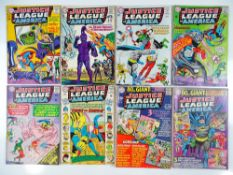 JUSTICE LEAGUE OF AMERICA #33, 34, 35, 36, 37, 38, 39, 48 - (8 in Lot) - (1965/66 - DC - UK Cover