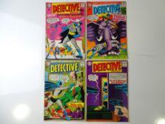 DETECTIVE COMICS: BATMAN #331, 333, 334, 335 (4 in Lot) - (1964/65 - DC - UK Cover Price) - Flat/