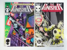 PUNISHER #1 & 2 - (1987 - MARVEL) - First ongoing series - Klaus Janson cover and interior art -
