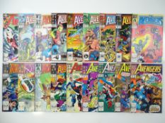 AVENGERS - (18 in Lot) - (1980/89 - MARVEL) - Includes issues #202, 278, 279, 280, 281, 282, 283,