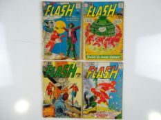 FLASH #118, 122, 123, 125 - (4 in Lot) - (1961 - DC - UK Cover Price) - Flat/Unfolded - a