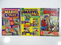 MARVEL TALES #3, 4, 13 (3 in Lot) - (1966/67 - MARVEL - UK Cover Price) - Flat/Unfolded - a