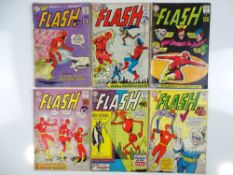 FLASH #128, 129, 130, 132, 133, 134 - (6 in Lot) - (1962/63- DC - UK Cover Price) - Flat/