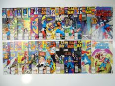 CAPTAIN AMERICA - (24 in Lot) - (1989/92 - MARVEL) - Includes #358, 359, 361, 362, 363, 364, 366,